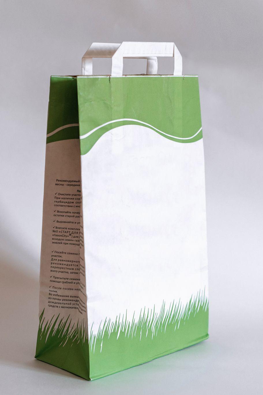Пакет с плоской ручкой 2